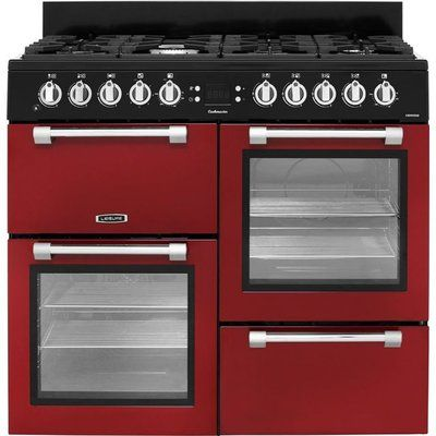Leisure Cookmaster 100 CK100F232R 100cm Dual Fuel Range Cooker - Red