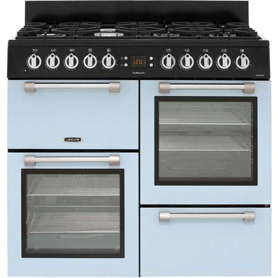 Leisure Cookmaster 100 CK100F232B 100cm Dual Fuel Range Cooker - Blue