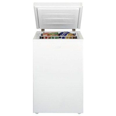 Beko CF374W 104 Litre Chest Freezer 61cm Deep Fast Freeze 54cm Wide - White