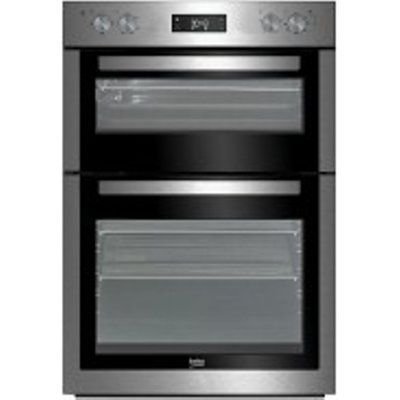 Beko BDF26300X 113L Electric Built-In Double Oven