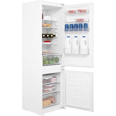 Beko BCSD173 54cm Wide 70-30 Integrated Upright Fridge Freezer - White