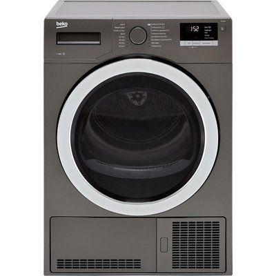 Beko DCY9316G 9Kg Condenser Tumble Dryer - Graphite