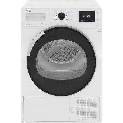 Beko DPHR8PB561W 8Kg Heat Pump Tumble Dryer - White