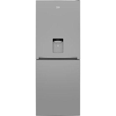 Beko Slim American Style Fridge Freezer CFG1790DW 50/50 - Silver