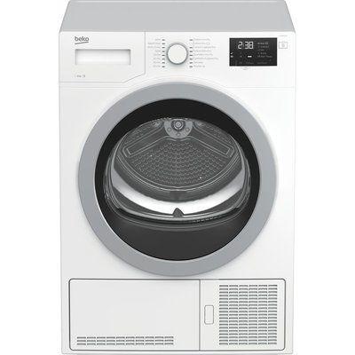 Beko Tumble Dryer DCX83120W 8 kg Condenser - White