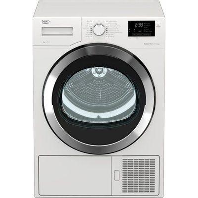 Beko Tumble Dryer DHX93460W 9 kg Heat Pump - White