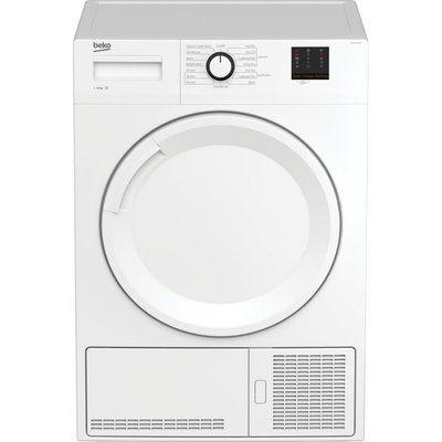 Beko Tumble Dryer DTBC1001W 10 kg Condenser - White