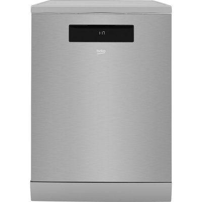 Beko DEN59420DX Full-size Smart Dishwasher - Stainless Steel