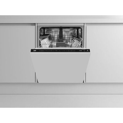 Beko AutoDose DIN59420D Full-size Fully Integrated Smart Dishwasher