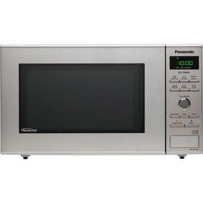 Panasonic NN-SD27HSBPQ Solo Microwave - Stainless Steel