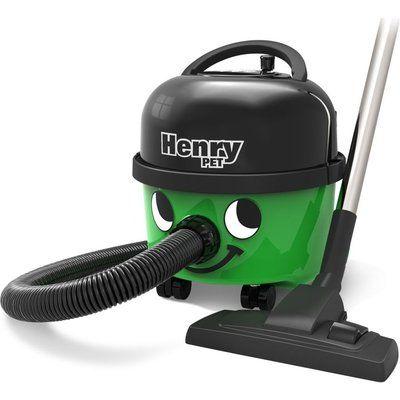 Numatic Henry Hoover PET.200-11 Cylinder Vacuum Cleaner - Green