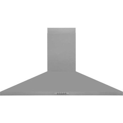 Belling Unbranded UH100SS 100 cm Chimney Cooker Hood - Stainless Steel
