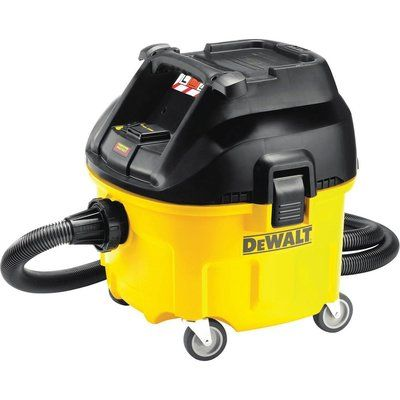 DeWalt DWV901L L Class Wet and Dry Dust Extractor 110v