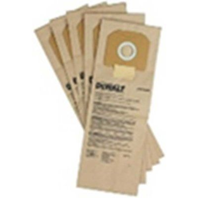DeWalt Paper Bags For DCV586M Dust Extractor Pack of 5