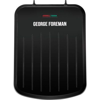 George Foreman 25800 Small Fit Grill - Black