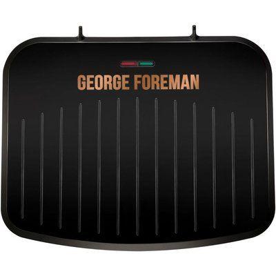 George Foreman 25811 Medium Fit Grill - Black & Copper
