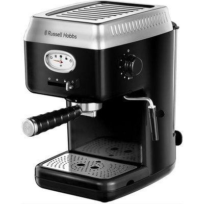 Russell Hobbs Retro Espresso Machine - Black