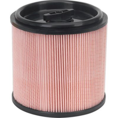 Sealey Fine Dust Cartridge Filter for PC200 and PC300 Series Vacuum Cleaners