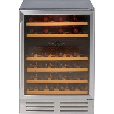 Belling Unbranded 600SSWC Built In Wine Cooler - Stainless Steel
