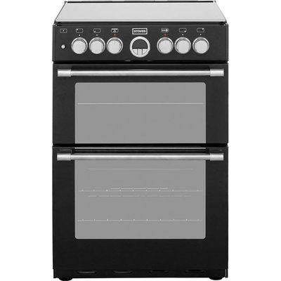 Stoves Sterling STERLING600DF 60cm Dual Fuel Cooker - Black