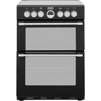 Stoves STERLING600E 60cm Electric Cooker with Ceramic Hob - Black