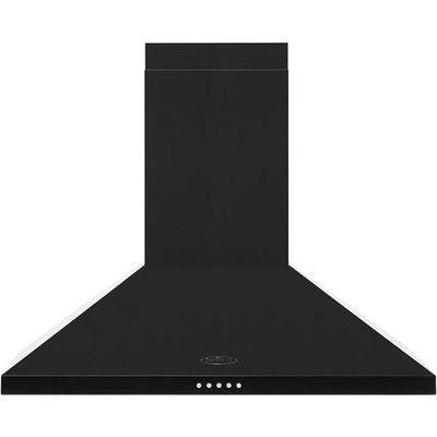 Belling BEL70CHIM 70 cm Chimney Cooker Hood - Black