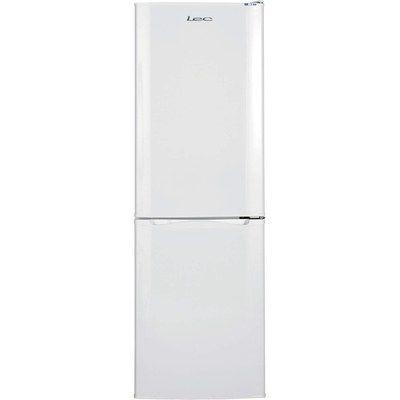 Lec 50cm Wide 1.52m Tall Freestanding Fridge Freezer White