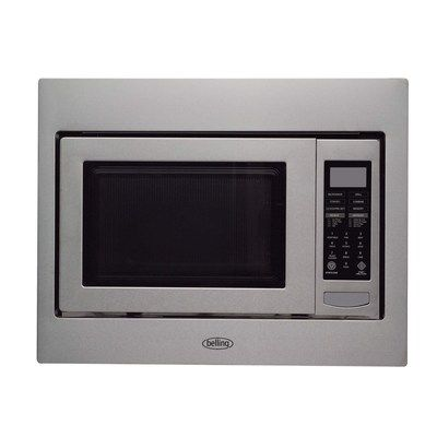 Belling BIMW60 Built-in Microwave Oven For A 60cm Wide Cabinet - Stainless Steel