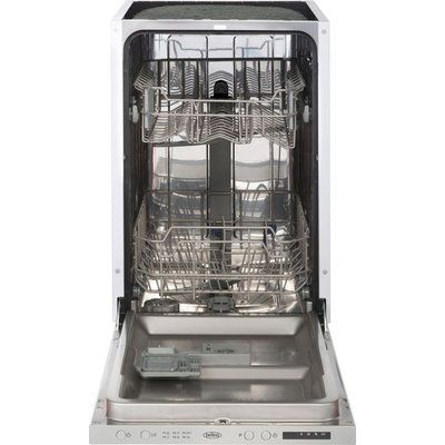 Belling IDW45 Fully Integrated Slimline Dishwasher - Stainless Steel