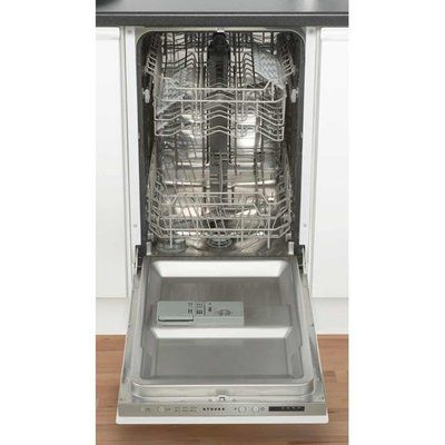 Stoves SDW45 Fully Integrated Slimline Dishwasher - Silver