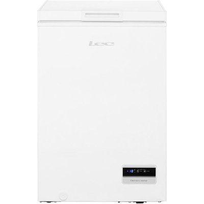 Lec CF100L 100L Chest Freezer - White