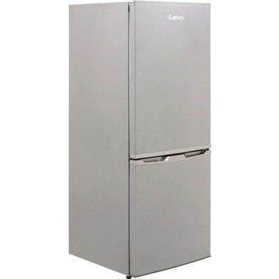 Lec TFL55148 Freestanding Fridge Freezer - Silver