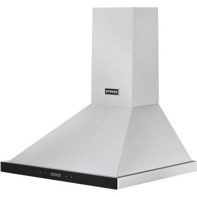 Stoves CHIM600 Touch Control 60cm Chimney Cooker Hood - Stainless Steel