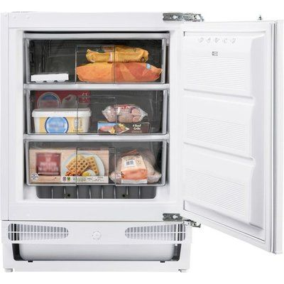 Belling FZ609 Integrated Under Counter Freezer with Fixed Door Fixing Kit