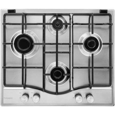 Hotpoint Newstyle PCN642IXH 59cm Gas Hob - Stainless Steel