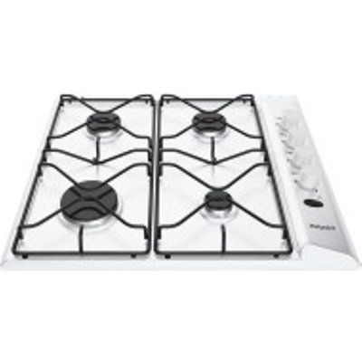 Hotpoint PAS642HWH 580mm Built-In 4 Burner Gas Hob