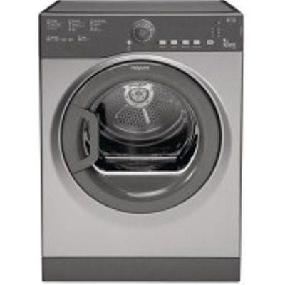 Hotpoint TVFS83CGG9 8kg Vented Tumble Dryer - Graphite
