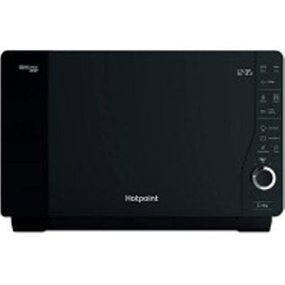 Hotpoint MWH26321B 800W Extra Space Crisp Microwave