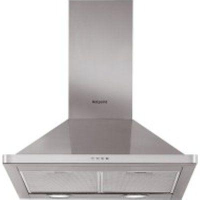 Hotpoint PHPN65FLMX 60cm Chimney Cooker Hood