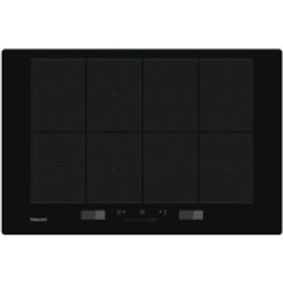 Indesit ACP778CBA 800mm Touch Control Total-Flex Induction Hob