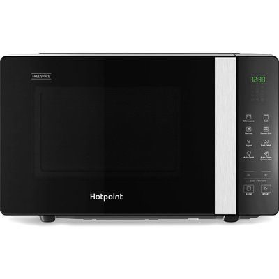 Hotpoint MWHF203B Microwave with Grill - Black