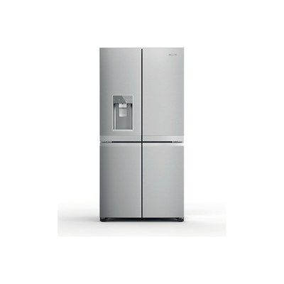 Hotpoint HQ9IMO1L Four Door American Fridge Freezer WIth Water Dispenser - Stainless Steel Look