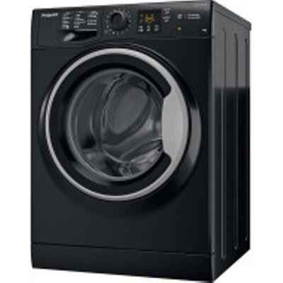 Hotpoint NSWM 1043C BS UK Steam Hygiene Washing Machine - Black