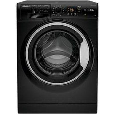 HOTPOINT NSWM843CBS 8kg 1400rpm Freestanding Washing Machine - Black