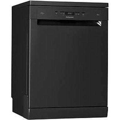 Hotpoint HFC3C26WCBUK 13 Place Fullsize Dishwasher - Black