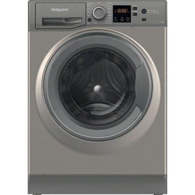 Hotpoint NSWR 742U GK UK 7 kg 1400 Spin Washing Machine - Graphite