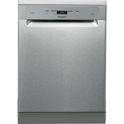 Hotpoint HFC3T232WFGXUK Standard Dishwasher