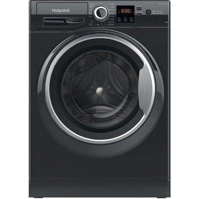 Hotpoint Core NSWR 843C BS UK N 8 kg 1400 Spin Washing Machine – Black