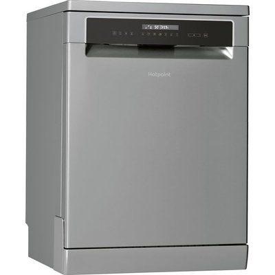 Hotpoint HFP5O41WLGXUK Standard Dishwasher - Stainless Steel