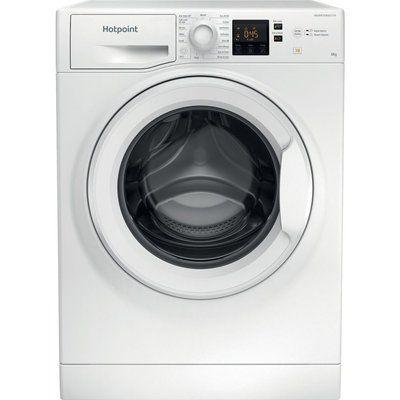 Hotpoint Core NSWR 843C WK UK 8 kg 1400 Spin Washing Machine - White